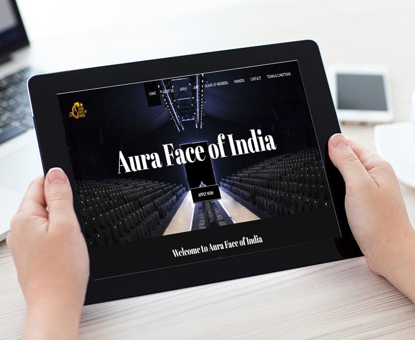 Face Of India | Work Website Development | Good Old Geek