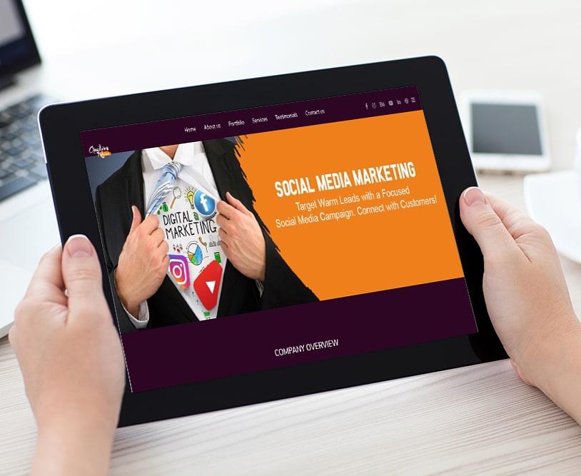 Creative Kshetra | Work Website Development | Good Old Geek