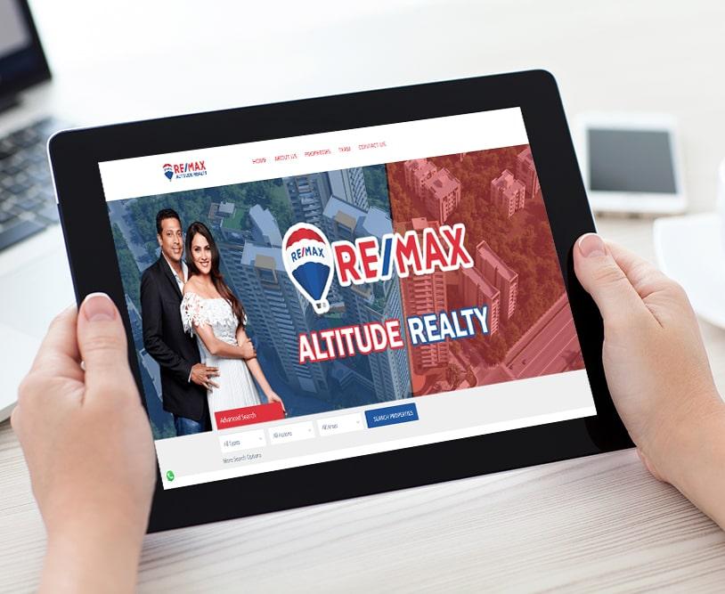 Remax Realty | Work Website Development | Good Old Geek