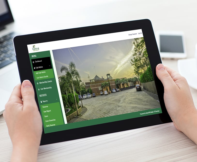 Harshraj Club and Resort | Work Mobile Application Development | Good Old Geek