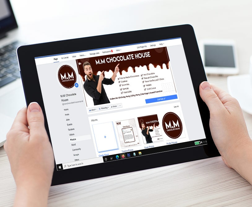 M.M Chocolate House Surat | Work Social Media Marketing | Good Old Geek